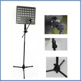 Prefect Folding Music Stand para Music Book e Mike