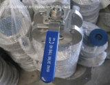 Tipo valvola a sfera della cialda dell'acciaio inossidabile di BACCANO Pn16