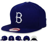 6 Panel bordado 3D Baseball Era Snapback Cap