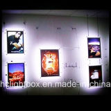 Acrylic LED Crystal Light Frame Hanging Picture Frame에 있는 Ceiling를 낮추기