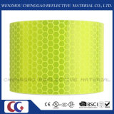 Bande adhésive d'avertissement d'inscription d'ingénierie de sûreté r3fléchissante fluorescente (C3500-OXF)