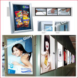Aluminium LED Slim Light Box pour LED Signature