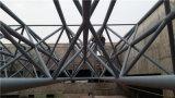 De Structuur van het Staal van de luchthaven met de Gebogen Bundels van de Grote Spanwijdte Dak
