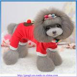 Kleding van het Huisdier van de Slijtage van de Manier van de Kleren van de Hond van Kerstmis van het nieuwjaar de Gelukkige