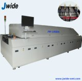 Horno el soldar de flujo de la zona del aire caliente 10 para la fábrica del ccsme