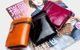 Carpetas cortas de cuero de Brown para Unisexs