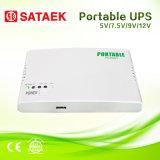 UPS da C.C. de 5V 7.5V 9V 12V mini para o dispositivo da rede