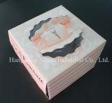 Boîte de gâteau faite sur commande de biscuit de papier d'imprimerie