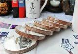 Aangepaste Afgedrukte MDF van het Embleem Vierkante Cork Onderlegger voor glazen