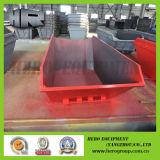 Elevador/faixa clara/poeira Chain vermelha/escaninho Waste