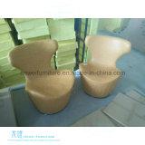 居間(HW-C335C)のための現代様式の余暇の回転イスの卵の椅子