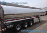 44000 Liter Aluminium5454 Adr-Öltanker-Förderwagen-Schlussteil-