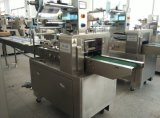 Tipo empaquetadora de la almohadilla del sector panadero horizontal automática del flujo del equipo de envasado del paquete para el alimento