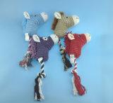 Het zachte Gevulde Stuk speelgoed van de Aap van het Huisdier van de Pluche met Kabel en Squeaker
