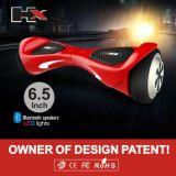 Alta calidad 6.5 batería eléctrica elegante de Samsung de la vespa de la rueda de la pulgada dos de /10 de la pulgada de /8 de la pulgada
