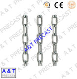 鋼鉄リンクによって電流を通されるチェーン・リンクの鎖
