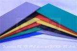 Feuille grise de PVC pour l'inducteur industriel de construction