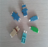 ¡Muestras libres! ¡! ¡! Adaptador óptico a dos caras de fibra del LC APC del precio bajo de la alta precisión de la fuente de la fábrica de Shenzhen