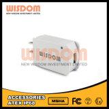 Adaptador blanco y elegante de la potencia de la lámpara de la minería