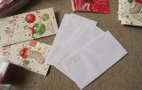 Cartolina di Natale allegra, cartolina d'auguri di natale