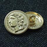 Типы кнопка золота хвостовика металла для форм пальто
