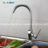 Choisir le robinet en laiton de mélangeur de Hot&Cold de taraud d'eau de cuisine de trou de traitement