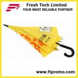 23 polegadas de guarda-chuva reto aberto do automóvel para o costume