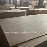 Contre-plaqué en bois dur rouge 1250*2500mm de face pour l'Europe