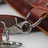 جلد طبيعي التعامل العسكري الرياضة القماش الخشن غسلها قماش حقيبة السفر (RS-6831A)