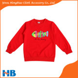 면 t-셔츠 아이들 아이 입기를 위한 긴 소매 가을 t-셔츠