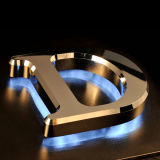 Verlichte 3D Letters Acrylic LED Sign LED Acrylic Logo Letters Advertizing Acrylic LED Letters voor LED Shop Sign
