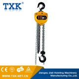 Bloc à chaînes et grue de marque de Txk