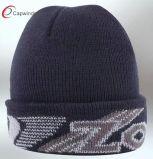 Diseño popular del sombrero unisex de la gorrita tejida