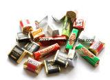 Embalaje automático de la torcedura del doble de la empaquetadora del chocolate