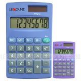 Various Optional Colors (LC332)를 가진 8개의 손가락 Dual Power Handheld Calculator