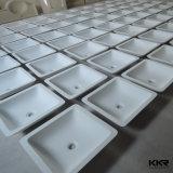 Solid Surface lavamanos de piedra de mármol de baño