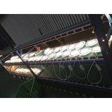 Light- del comitato del LED incastonato montato intorno ad un comitato 6+2 W di due colori con il bordo blu del cerchio