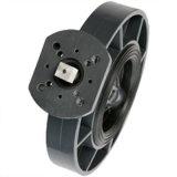 Válvula de borboleta padrão do ANSI JIS do RUÍDO do PVC para o uso do atuador