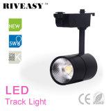 indicatore luminoso della pista del nero LED della PANNOCCHIA 5W con la lampada chiara di Ce&RoHS LED