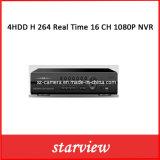 4HDD 실제 시간 24 CH 1080P NVR