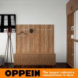 Шкаф грецкого ореха Oppein U-Shaped с раздвижными дверями (YG16-A02)