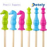 Tubi di masticazione dei giocattoli di terapia per i cappelli a cilindro della matita