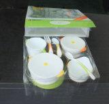 赤ん坊の製品のための印刷のゆとりのまめの皿が付いているカスタムプラスチック折るペットボックス