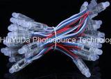 DC12V imperméabilisent le Pixel polychrome de la lumière 12mm F8 DEL de Pixel de RVB DEL