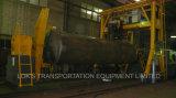 De 42000 litros do combustível do petroleiro reboque Semi