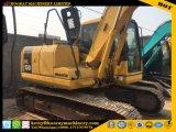 Excavador usado de KOMATSU PC130-7, maquinaria de la Caliente-Venta, excavador usado de la correa eslabonada