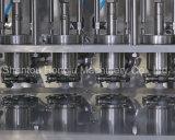 Llenador echado en chorro de la bolsa y maquinaria que capsula para los productos líquidos