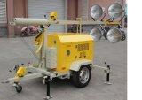 Torre clara Diesel móvel com reboque
