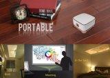 Mini Slimme van de Zak Projector Van verschillende media voor Huis/Bureau/Openlucht/Filmprojector met Laptops van de Telefoons van Apparaten HDMI