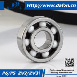 Cuscinetto a sfere profondo di ceramica della scanalatura dell'acciaio al cromo (6302-2RZ)